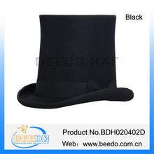 Venta al por mayor de fieltro de lana doma riding top sombreros baratos