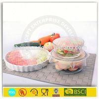 FDA Food Grade Silicone Food Wrap / Soft Cling Film