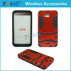 Cheap Bulk Items Hard Hybrid Armor Slim fit 2 IN 1 PC + TPU Mobile Phone Cases For Kyocera Hydro Wave C6740