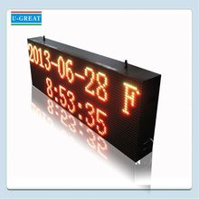 Informative traffic used outdoor lighted signs