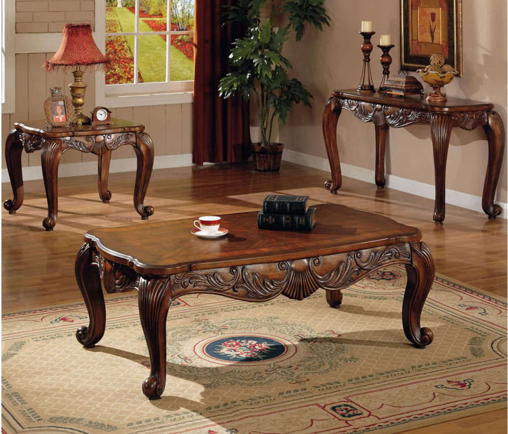 New Design High Quality Antique Wood Center Table - Buy Center Table ...