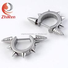 Zhiren 316l Stainless Steel nipple piercing, nipple shield Ring, nipple piercing jewelry