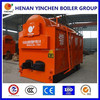 Coal burning steam boiler generating electricity on rice husk with new technology
