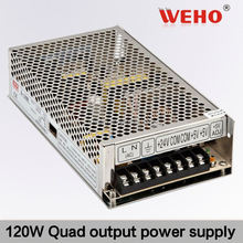 New product! 120W Quad output switching power supply -12v 1a power supply