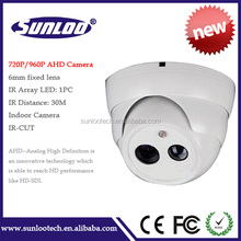 Low cost dome ahd camera ir array led security camera with auto image color,ir cut cctv camera