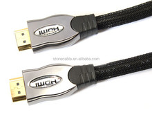 High Speed HDMI cable real support 3D 1.4V 2.0V 4K*2K Hd resolution HDTV CABLE