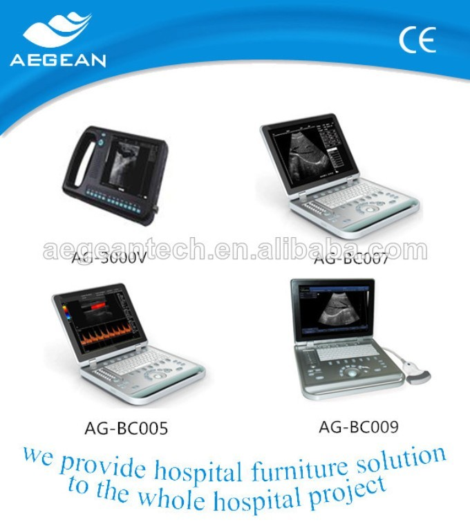 AG-BU005 easy carrying high quality CE& ISO ultrasound machine price