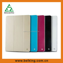 Plastic cover For iPad air smart leather cover