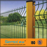 Removable Garden Fence Yellow Triangle Fence