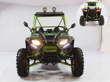Chinese 2 seats 250cc shaft drive adult quad utv in polaris style