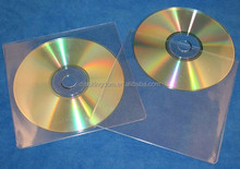 Clear Plastic Transparent CD Sleeves