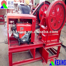 Mobile slag/plaster/clay/salt crusher machine from China supplier