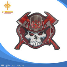 China made Custom cheap polyester woven embroidery patch for fashion dress