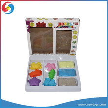 JS2706706 Colorful Play Sand With Tools DIY Magic Space Sand Modeling Mood Sand
