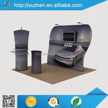 Trade show exhibit stage decoration backdrop fabric display