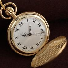 WP114 factory price Wholesale polished custom vintage quartz antique pocket watch