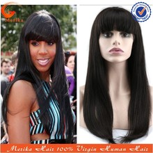 Factory price cheap brazilian hair wig, Kelly human hair wigs for black women, silky straight brazilian hair lace front wig