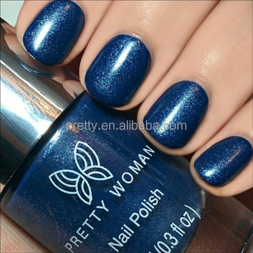 10ml Light Blue Denim Nail Polish OEM Nail Products