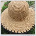 Design de moda crochet beret chapéus para meninas barato