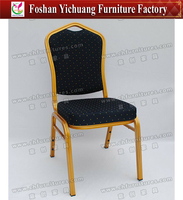 Comfortable stacking aluminum chair for dining YC-ZL22-29