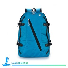 High quality nylon student school backpack for girls