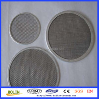 Alibaba China sintered stainless steel filter disc / sintered bronze filter disc