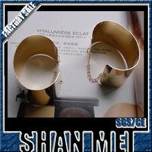 Exaggerate bangle gold bracelet 22k