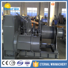 Anchoring and mooring winches with world level
