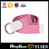 Hot Sales Alloy Buckle Candy Color Webbing Belts