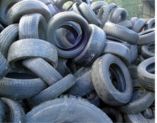 Scrap waste tire/tyre