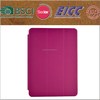 beautiful three folding PU leather case for ipad Air with best quality
