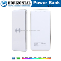 Wireless power bank 10000mah external battery qi wireless charger for lenovo universal christmas gifts