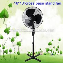 Pulgadas 16 elcetric de color ventilador de pie/ventilador de pedestal/oscilante del ventilador