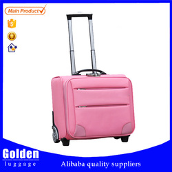 Baigou factory new design smart trolley case/ cabin size sky travel luggage bag / China wholesale fashion airline luggage