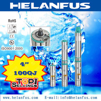 "4""100QJ stainless steel water pressure booster pump for shower"
