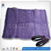 Purple PE knitted raschel bag in roll raw material