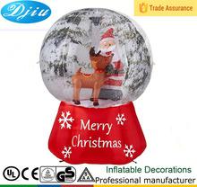 Dj-b-110 barato navidad exterior cristal colgando inflable decoración de exteriores