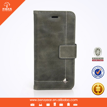 Fashion Design High Quality Genuine Cow Leather Mobile Phone cases for iPhone 6