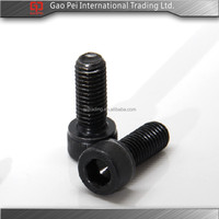 Black color socket cap screw