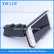 Hot mini 60-100X zoom lens for mobile phone with cover Microscope Maginifier + Back Cover for iPhone 5 & 5S yiwu stock !!