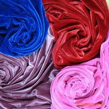 strentch velvet/crushed fabric