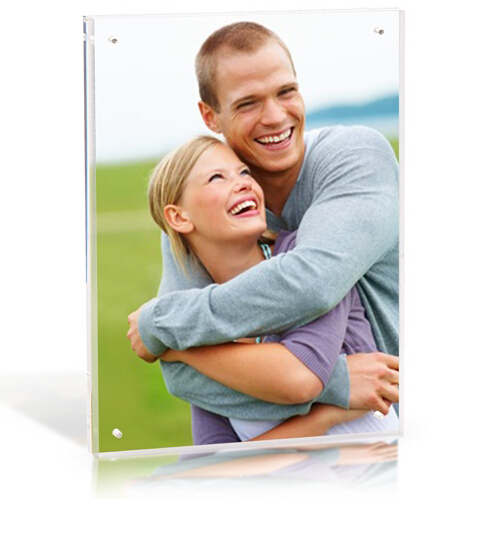 Hot sale clear plexiglass acrylic hot sexi picture frame