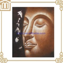 Buda pintura al óleo del retrato