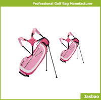 Manufacture Supply Small Pink Golf Stand Bag