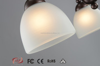 Contemporary Edison Bulb Style Pendant Light LED Ceiling Light American Rural Hanging Lamp Rusted Ceiling Chandelier