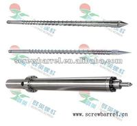 precision screw and barrel for injection moulding machines