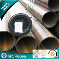 ASTM A53 ASTM A106 carbon seamless steel pipes for struction or liquid and gas delivery