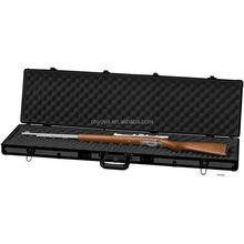 "Details about Aluminum 44"" Rifle Shotgun Protection Gun Case, Black Padded Carrying Range Safe"
