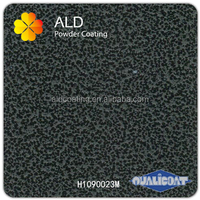 ALD wrinkle texture coating powder