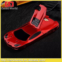 Cool 3D Car Case for iPhone 6 Convenient Stand car case for iPhone 6 Hot Sports Car Two Pieces Hard Plastic Case for iPhone 6